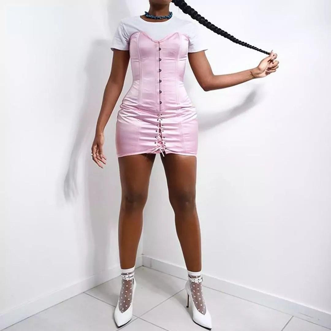 Estilo Isa vestido corset
