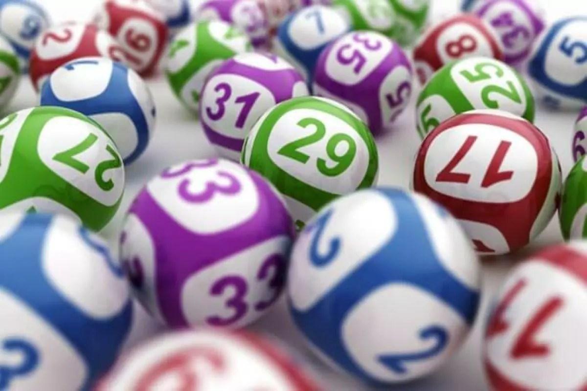 Resultado do Super Sete - diversas bolas numeradas
