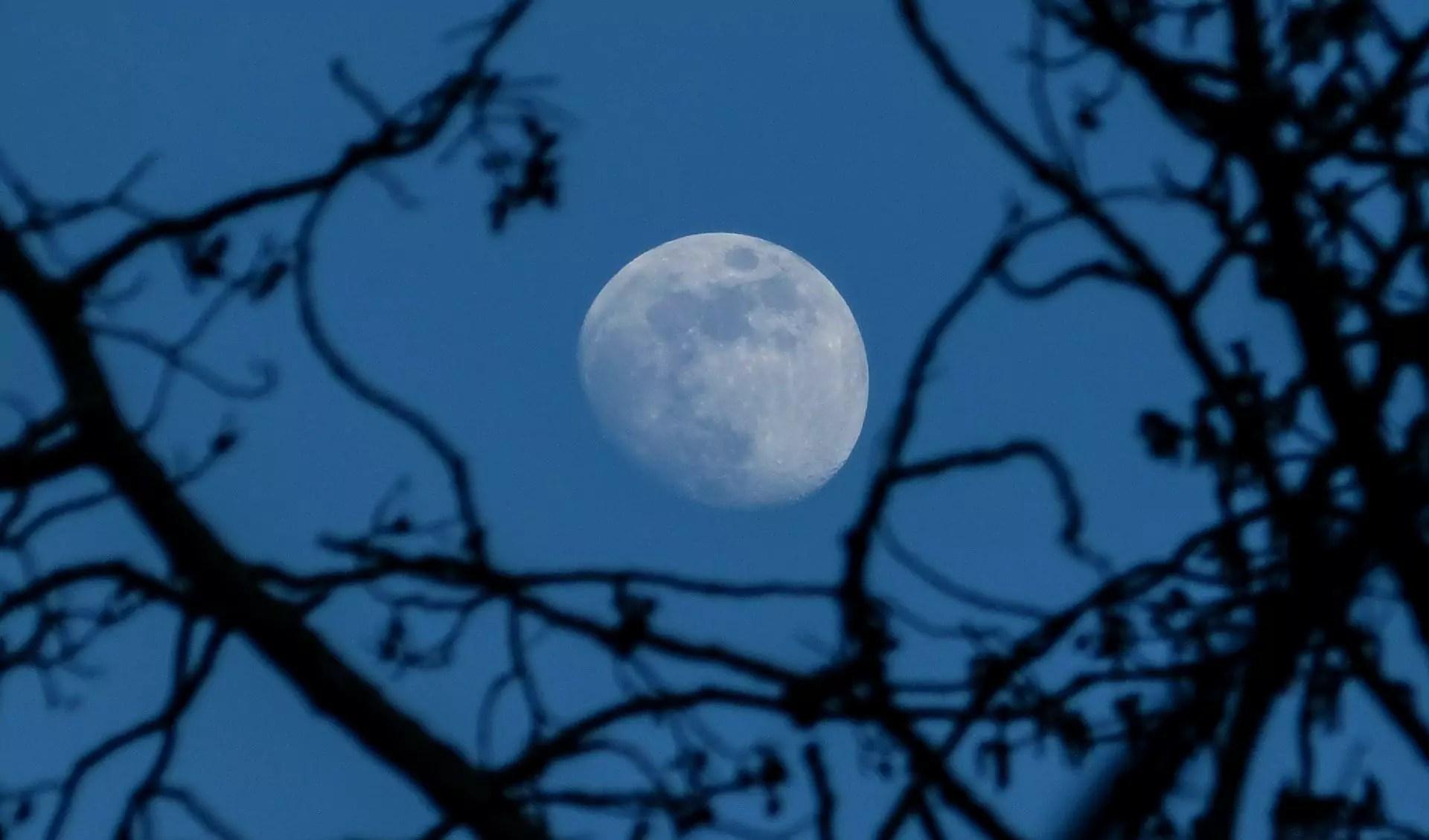 lua azul de Outubro 2020