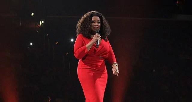 Oprah Winfrey em discurso