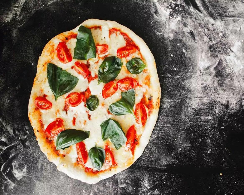 receita fácil de pizza fitness