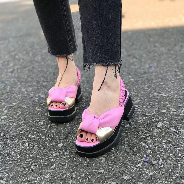 tendências em sandálias