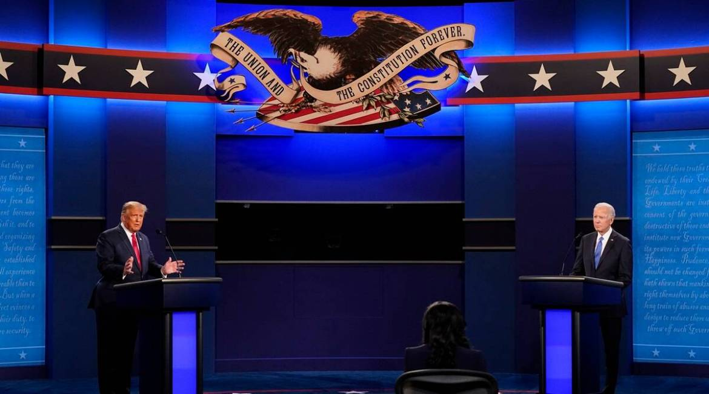 último debate entre Trump e Biden
