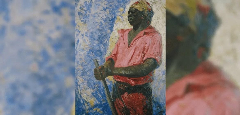 Zumbi dos Palmares em quadro de Antônio Parreiras