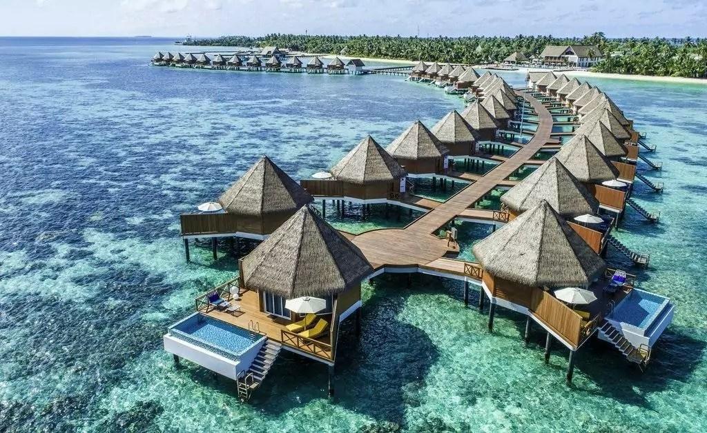 Mega da Virada 2020 - a imagem mostra um lugar das Ilhas Maldivas