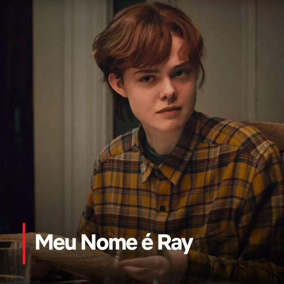 A imagem mostra uma cena do filme My Name is Ray