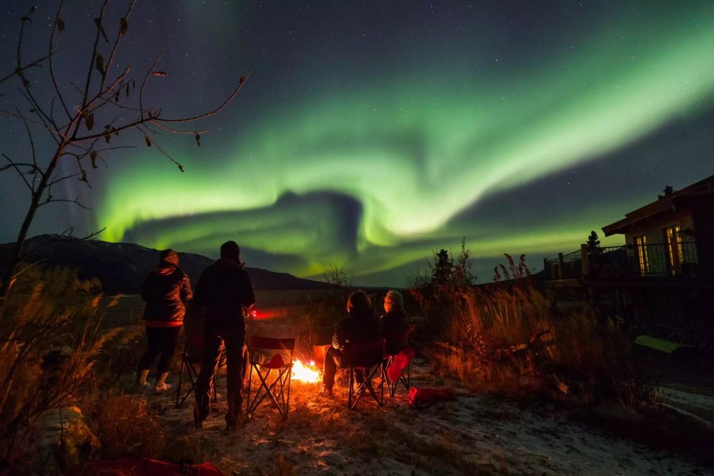 Aurora Boreal no Alaska. Foto: Alaska's Northern Lights Private Tours