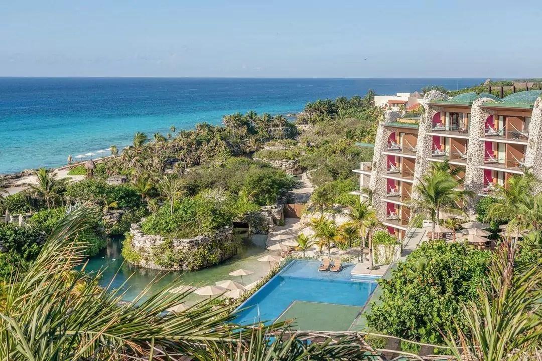 Imagem mostra Hotel Xcaret México