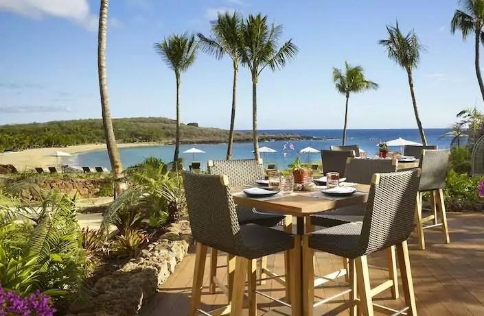 Imagem mostra resort no Havaí