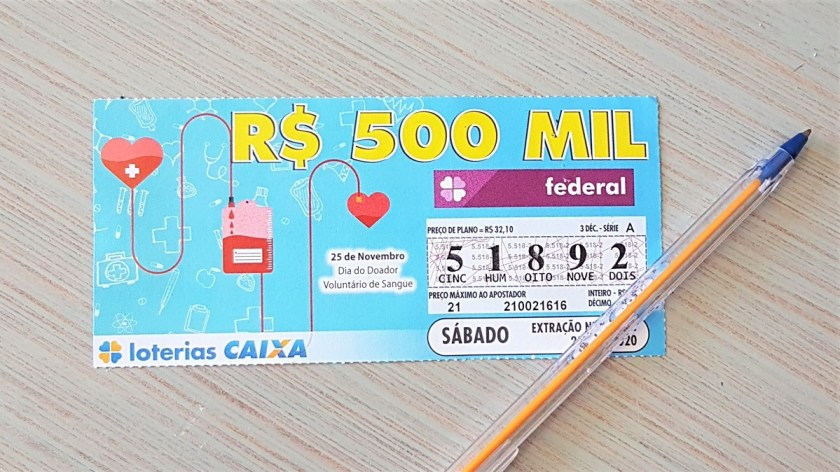Federal Lottery 5596