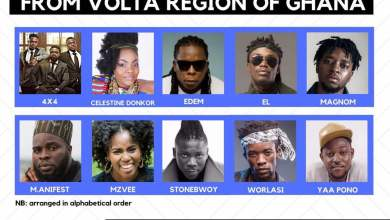 Photo of Top 10 Music Exports From the Volta Region in 2017