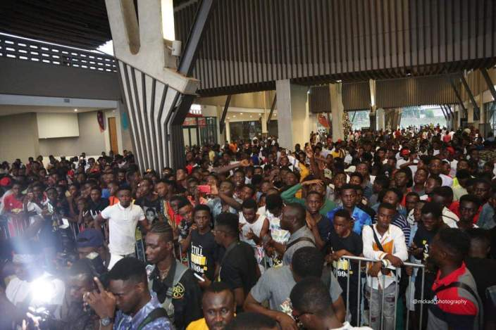 STN EL launch 1 - Sarkodie, Akwaboah and thousands of Music Fans at Strongman's STN EP