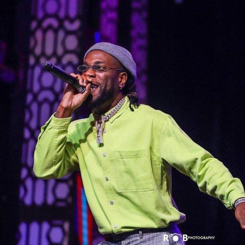 "BURNA BOY 1 500x500 - #AfroNationGhana listed Performer, BURNA BOY, wins ""African Artiste Of The Year"" at #VGMA20"