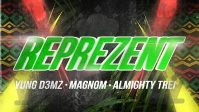 Yung D3mz represent - Yung D3mz ft. Magnom & Almighty Trei - Reprezent