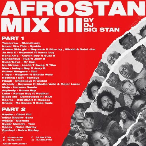 Big Stan 2 500x500 - DJ Big Stan - Afrostan Mix III