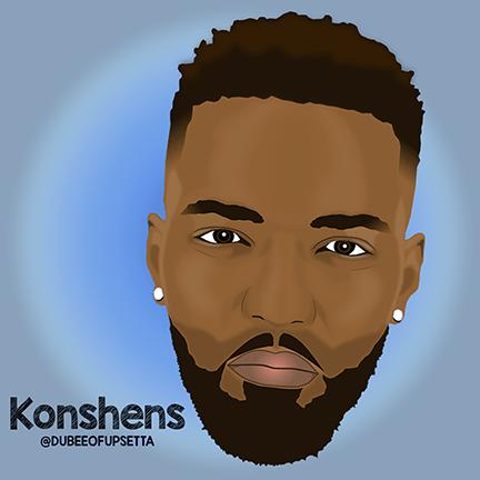 Konshens cartoon - Konshens - Backaz (Incredible Riddim)