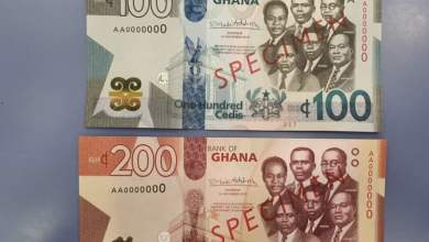 Photo of Bank of Ghana introduces GH¢100, GH¢200 notes and GH¢2 coin