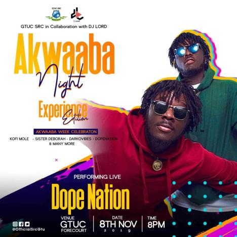 PHOTO 2019 11 02 22 29 04 - DJ Lord Partners With GTUC S.R.C. For This Year's Akwaaba Night (Experience Edition)