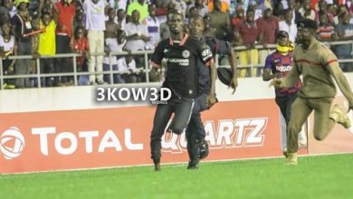 Photo of Pitch Invader in Ghana-South Africa game to be arraigned before court
