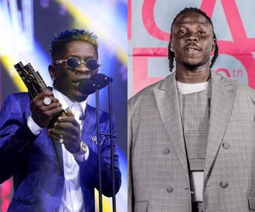 shatta stone 4syte 500x415 - VGMA 2020: Songs featuring Shatta Wale and Stonebwoy weren't Popular - Charterhouse