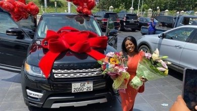 IMG DA56ECFCC9A9 1 - DVLA Confirms Nana Aba Anomoah's  Range Rover Number Plate Is Already In Use