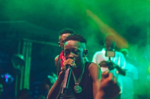 """New Dancehall Kid - Photos : Stonebwoy, Donzy, Larruso, Talaat Yarky, MC Miguel, Abeiku Sarkcess and more support DJ Justice on """"The Justice Experience"""" Event"""