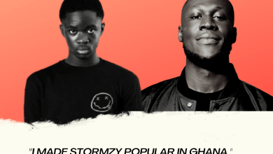Beige Green and Blue Simple Happy Earth Day Instagram Post 42 - I Made Stormzy Popular In Ghana - Yaw TOG