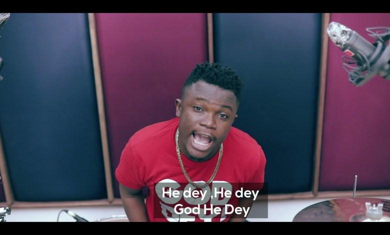 """Kobby Salm God Dey - KobbySalm Out With """"God Dey"""" Lyrics & Montage Video."""