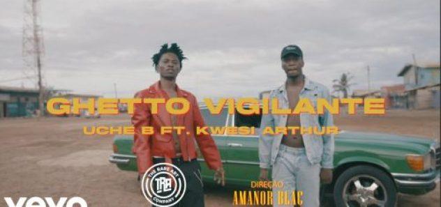 uCHE b GHETTO vIGILANTE VIDEO e1630249813996 500x235 - Uche B ft. Kwesi Arthur - Ghetto Vigilante (Official Video)
