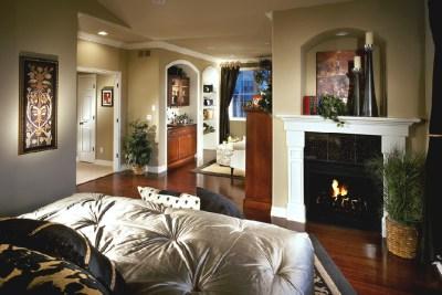 Mansion Home Master Bedroom