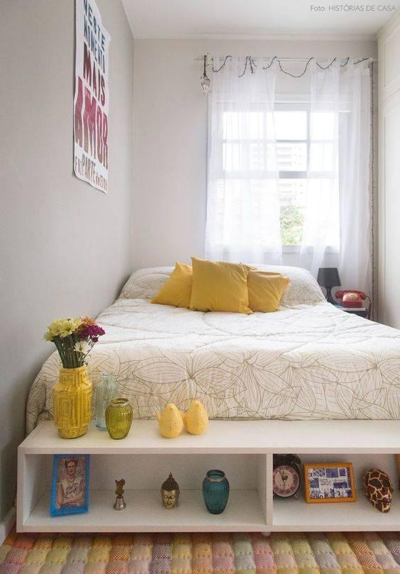 opçao de cama quarto pequeno