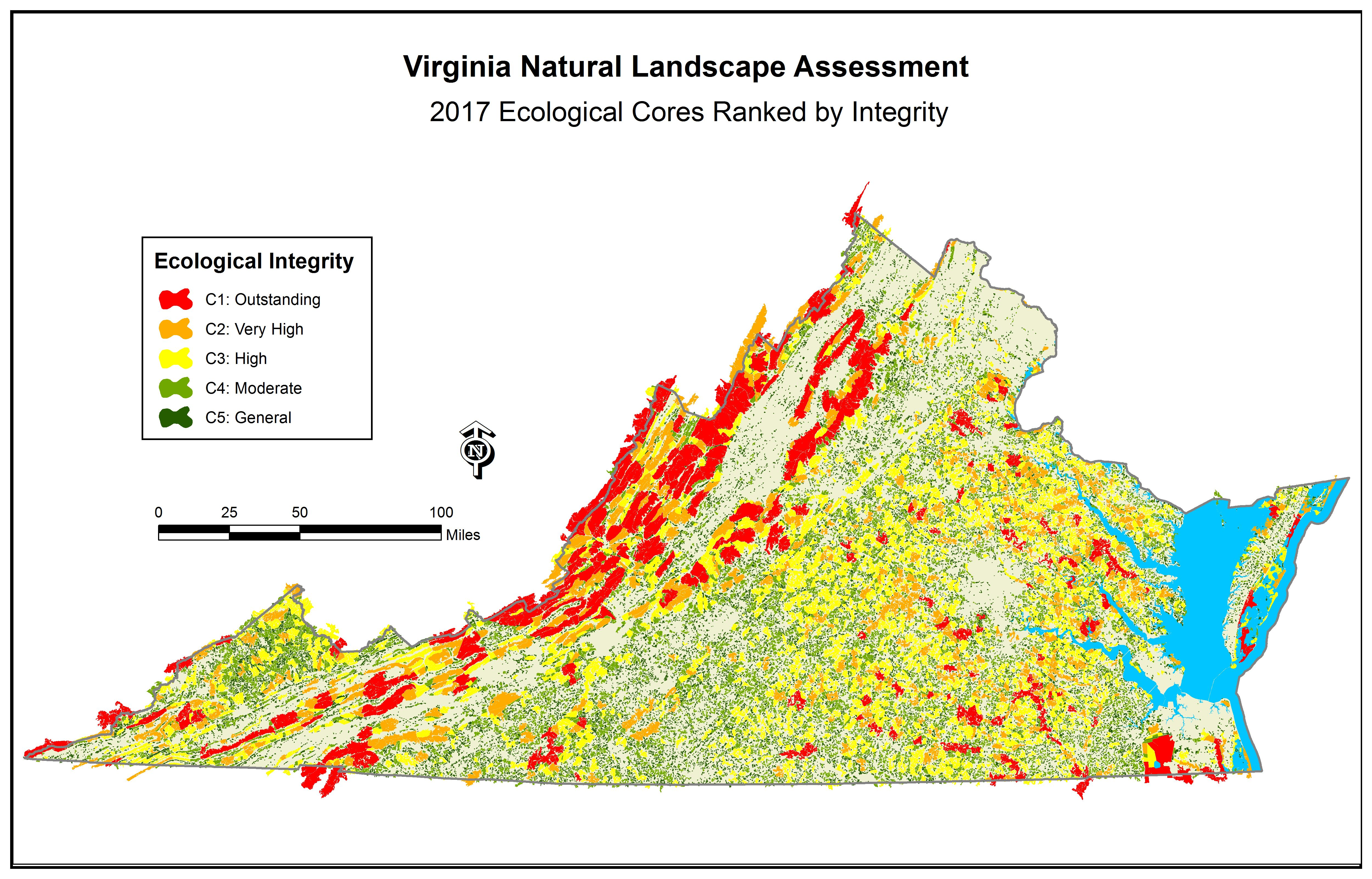 Virginia Conservationvision Natural Landscape Needs Assessment