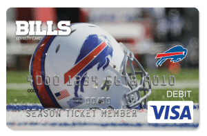 Buffalo Bills - Bills Bucks Loyalty Card Program