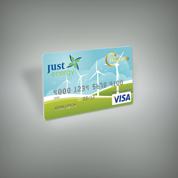 Just Energy Prepaid Incentive Card