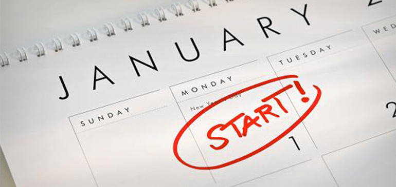 financial new year