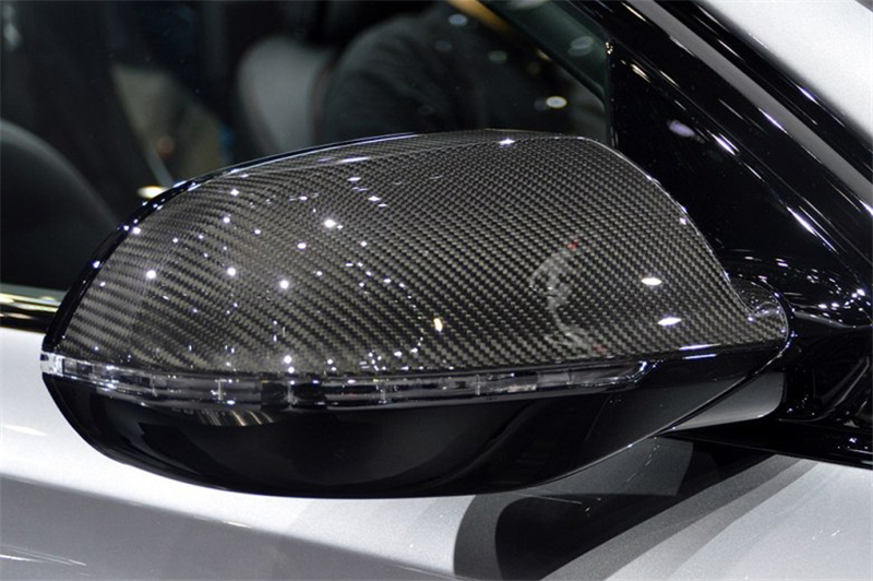 Audi A8 S8 Carbon Fiber Mirror Cover