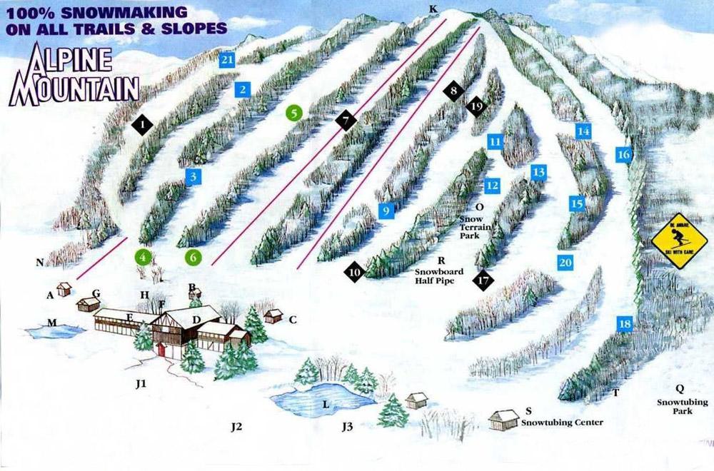 Arlington Highlands Map