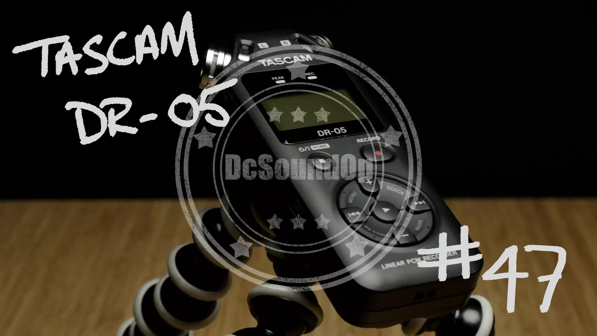 Tascam DR-05 Real World Review & User Guide
