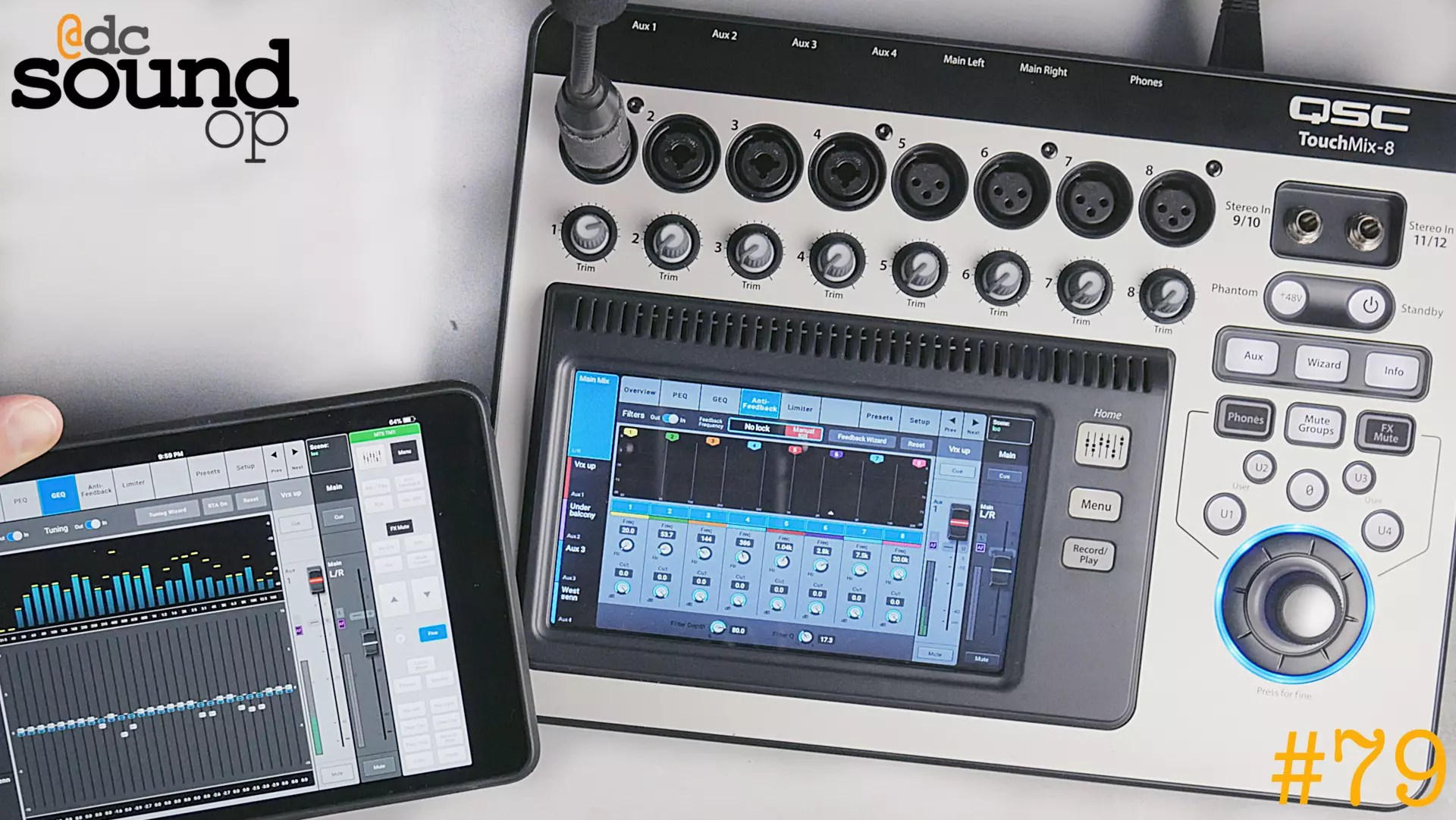 #79 – QSC TouchMix Review Update – 1 Year Later