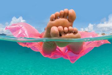 feet swimming pool