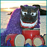 CultureCapital - Thunder Drums and the Giant Lion-Dog Celebrate Asian Pacific American Heritage Month