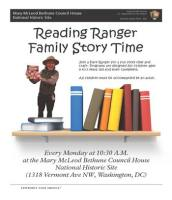 Reading Ranger Family Story Time - Mary McLeod Bethune Council House