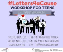 Letters4aCause - Teen Advocacy Workshop