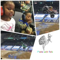 Moms with Tots - Monster Jam Review at Royal Farms Arena