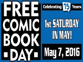 Free Comic Book Day 2016 - 1st Saturday in May
