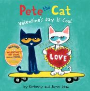 Pete the Cat - Valentine's Day is cool by Kimberly and James Dean
