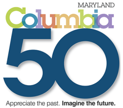 Columbia Maryland 50 Logo