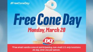 DQ Free Cone Day 2017