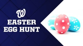Nationals Easter Egg Hunt