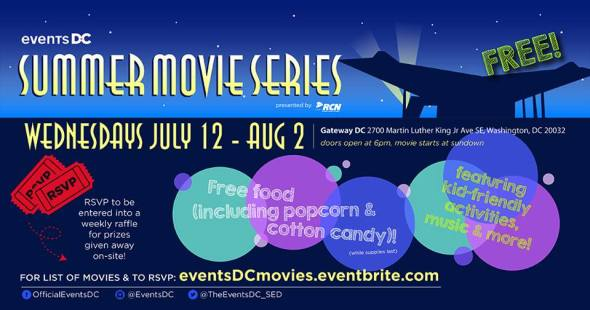 Events DC Summer Movie Series presented by RCN